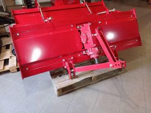 rotavátor 220 cm na rozpracovanie pôdy pred výsadbou plodín