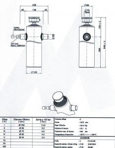 hydraulický valec na vyklápač
